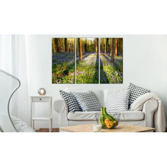 Tablou Spring Forest 120 cm x 80 cm naturlich.ro