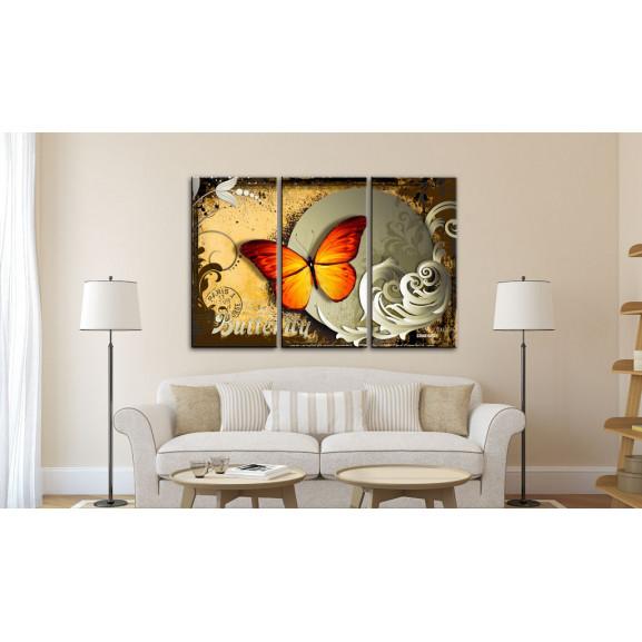 Tablou Flight Of A Butterfly 120 cm x 80 cm naturlich.ro