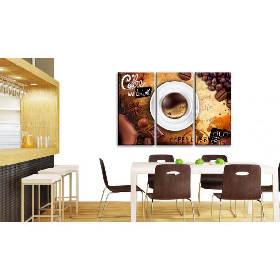 Tablou Cup Of Coffee 120 cm x 80 cm naturlich.ro