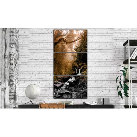 Tablou Small Waterfall 60 cm x 120 cm naturlich.ro