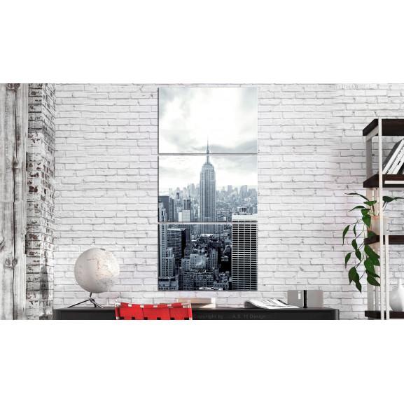Tablou New York: Empire State Building 60 cm x 120 cm naturlich.ro