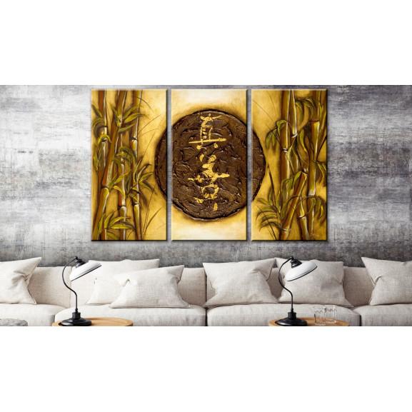 Tablou Oriental Symbol 120 cm x 80 cm naturlich.ro