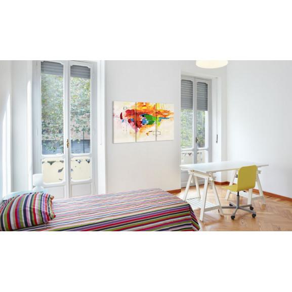 Tablou The Parrot 120 cm x 80 cm naturlich.ro
