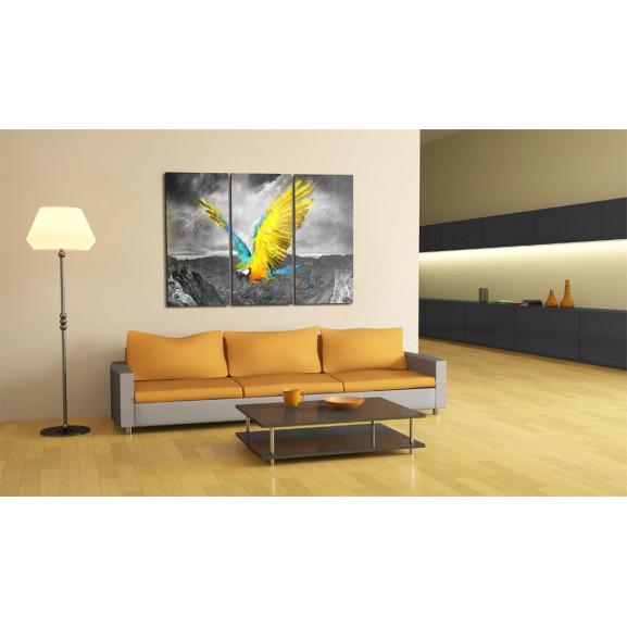 Tablou Bird-Of-Paradise 120 cm x 80 cm naturlich.ro