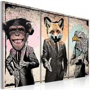 Tablou Monkey Business  120...
