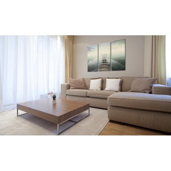 Tablou Point Of No Return Triptych 120 cm x 80 cm naturlich.ro