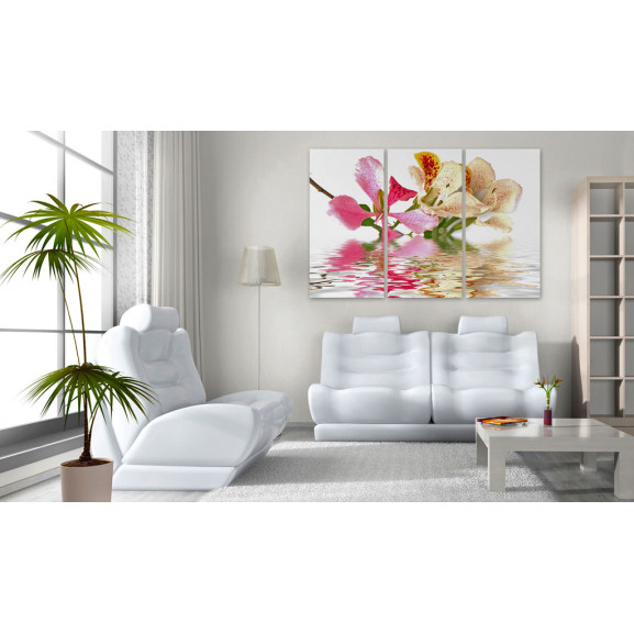 Tablou Orchid With Colorful Spots 120 cm x 80 cm naturlich.ro
