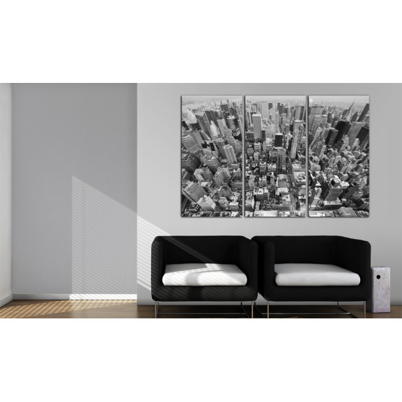 Tablou A Marvellous View On New York Roofs 120 cm x 80 cm naturlich.ro