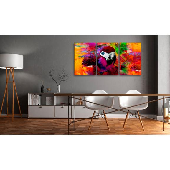 Tablou Jungle Of Colours 120 cm x 60 cm naturlich.ro