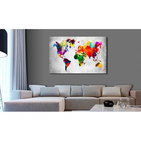 Tablou Coloured Revolution 120 cm x 80 cm naturlich.ro