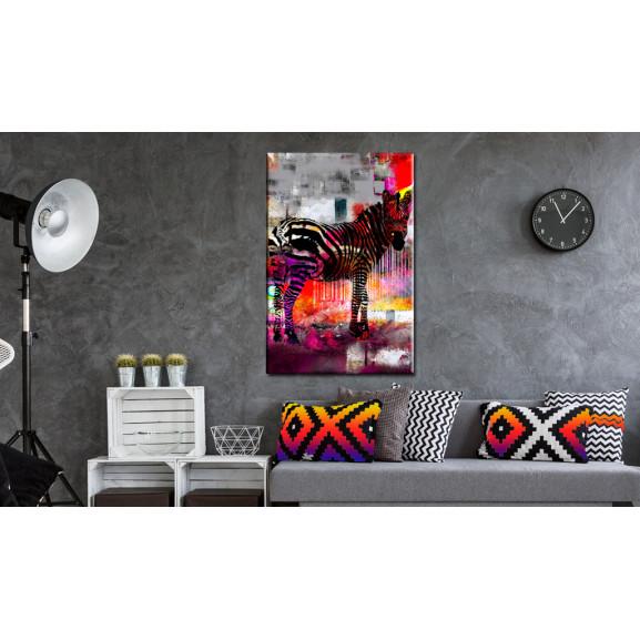 Tablou Code Of Modernity 40 cm x 60 cm naturlich.ro