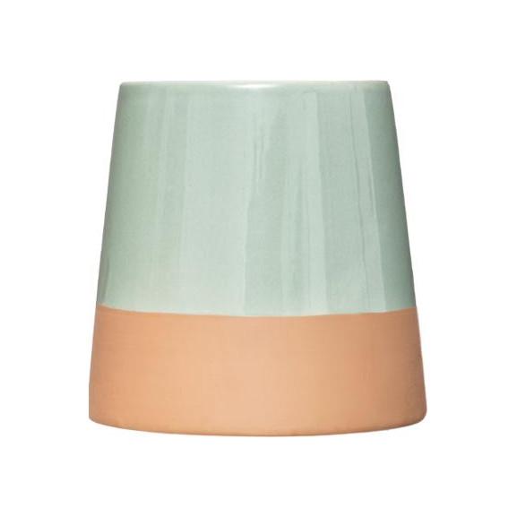 Candela Parfumata Ceramic Verde naturlich.ro
