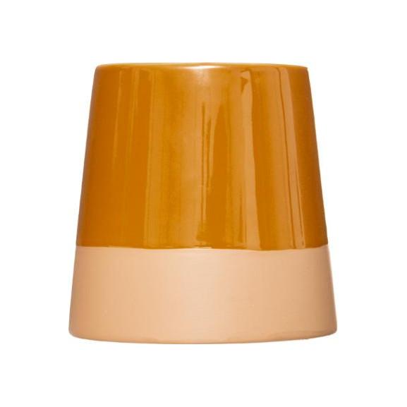 Candela Parfumata Ceramic Maro naturlich.ro