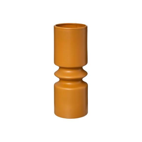Vaza ceramica geom Galben