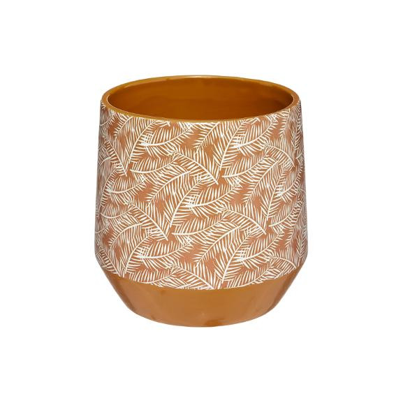 Cana ceramica Galben