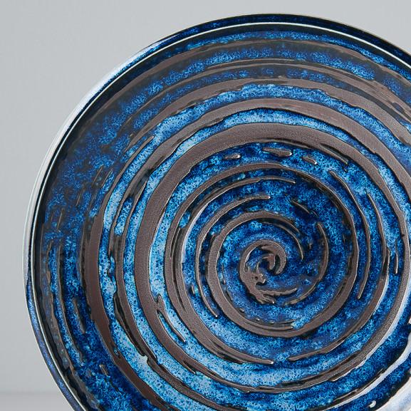 Platou Rotund Copper 20 cm naturlich.ro