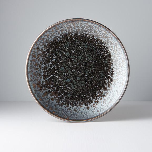 Platou Rotund Black Pearl 25 cm naturlich.ro