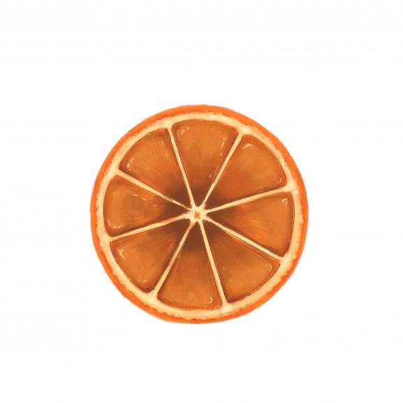 Lumanare Parfumata Amber & Sweet Orange naturlich.ro