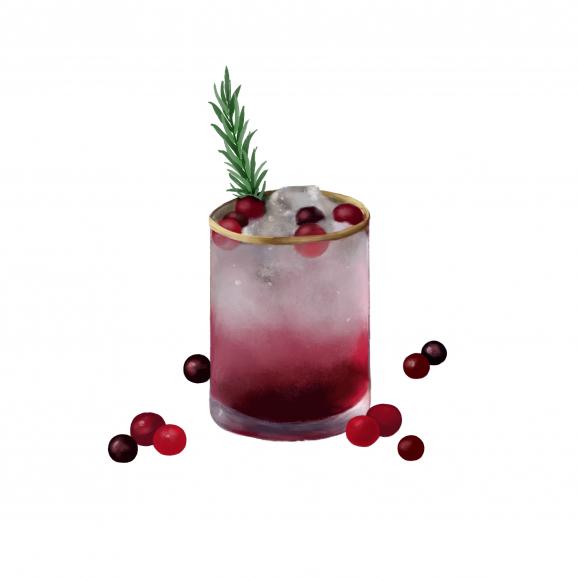Lumanare Parfumata Crimson Cranberry Sparkler naturlich.ro