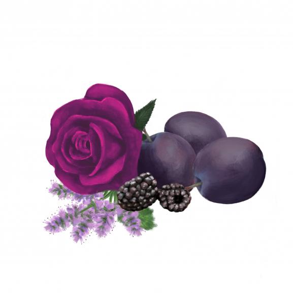 Lumanare Parfumata Plum Rose & Patchouli naturlich.ro