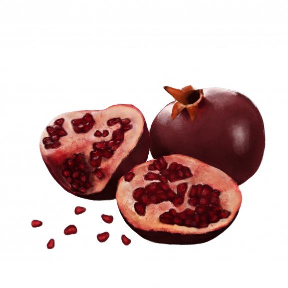 Lumanare Parfumata Pomegranate Noir naturlich.ro