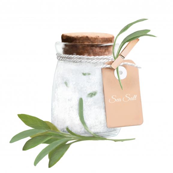 Lumanare Parfumata Sage & Sea Salt naturlich.ro
