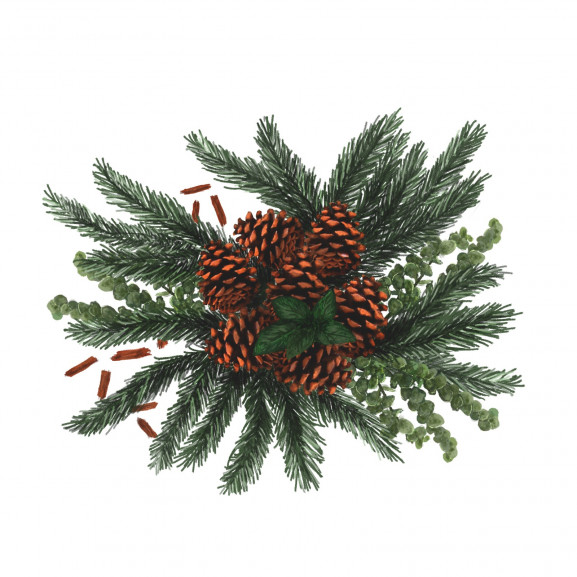 Lumanare Parfumata Shimmering Spruce & Peppermint naturlich.ro