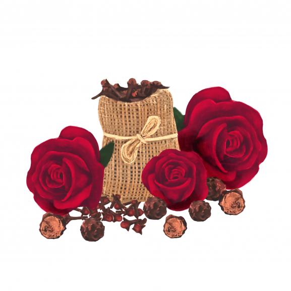 Pastila de Ceara Parfumata Velvet Rose & Oud naturlich.ro