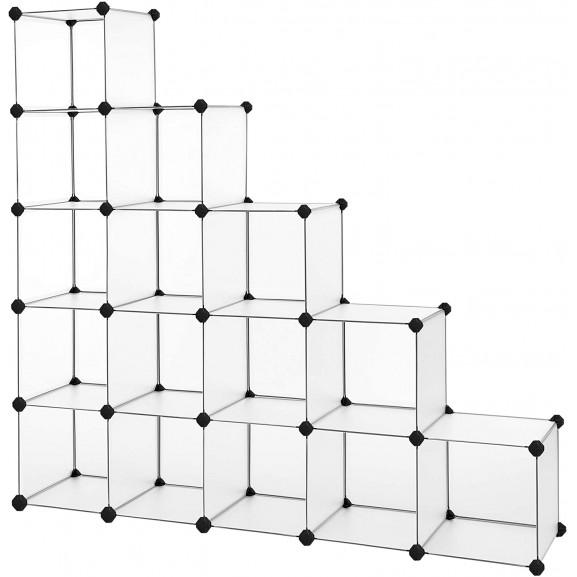 Raft De Depozitare Din Plastic, Transparent, 125 x 31 x 125cm naturlich.ro