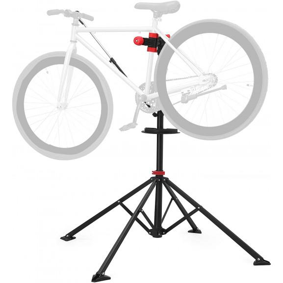 Stand reparatii biciclete Modulo 6, 114-195 cm naturlich.ro