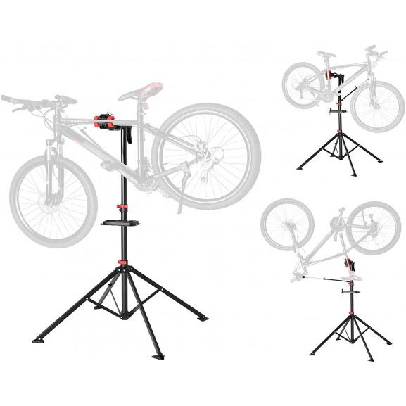 Stand reparatii biciclete Modulo 2, 99-172 cm naturlich.ro