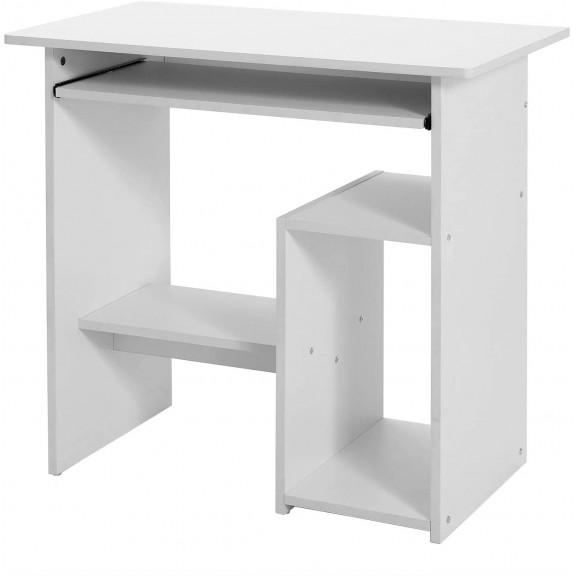 Masa birou 1 alb, 120 x 90 x 59 cm naturlich.ro