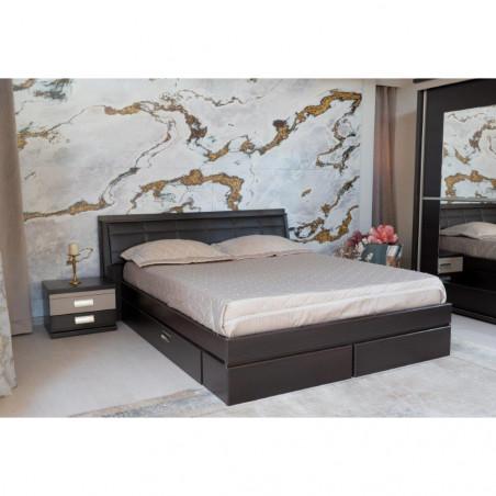 Dormitor Pallas Wenge, Pat 1600 mm.-01