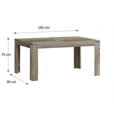 Masa extensibila Norvina, 1600/2060 mm.-01