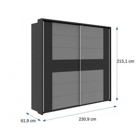 Dulap Delice, 2309 x 2151 x 619 mm.-01