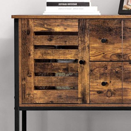 Dulap Depozitare Vintage, Maro, 100 x 35 x 84.5 cm