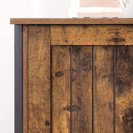 Dulap Depozitare Vintage, Maro, 80 x 30 x 80 cm