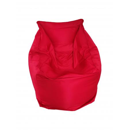 Fotoliu Bean Bag, Interior-Exterior, Tip Fotoliu Rosu, 60X60X34X60 cm-01