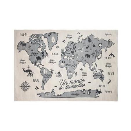 Covor World Map 147 X 98 cm
