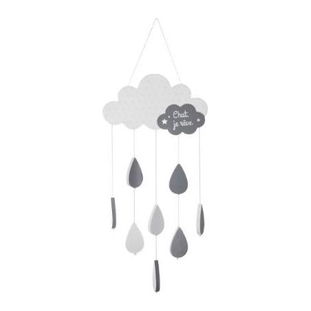 Decoratiune Agatatoare Grey Cloud