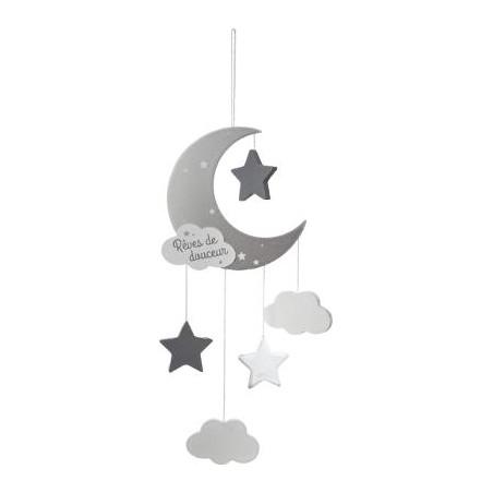 Decoratiune Agatatoare Grey Moon