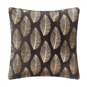 Perna Decorativa Velvet Gri Feather 40 X 40 cm