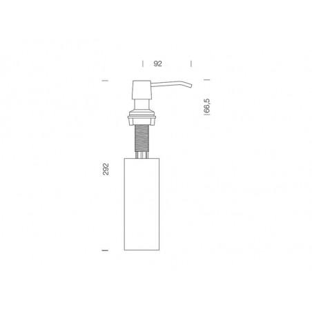 Dozator detergent lichid Schock Bela Inox Lucios-01
