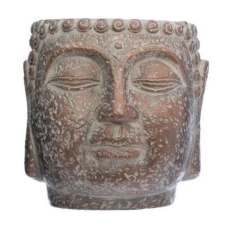 Ghiveci Cap Buddha H17,5 cm Maro-01