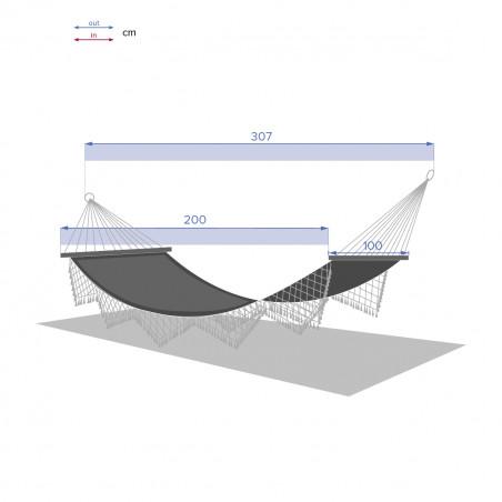 HAMAC FRINGE GRI-01