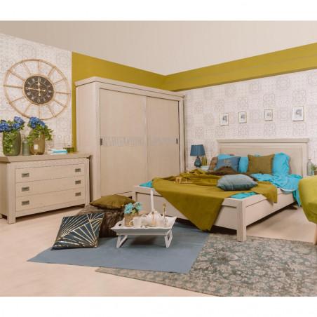 Dormitor Casablanca, Pat 1600 mm.-01