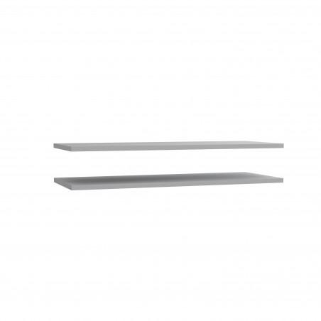 Set 2 Polite Dulap Cristopher, Gri, 107,8 x 2,2 x 42 cm-01