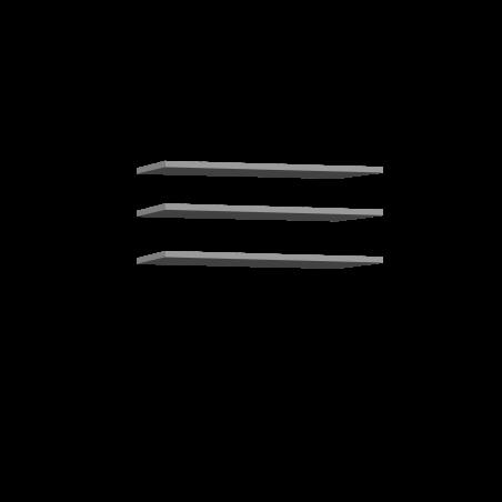 Set 3 Polite Dulap Olivier, 47,8 x 2,2 x 42 cm-01