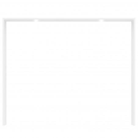 Rama Dulap Olivier, 280,9 x 23,8 x 228,3 cm-01