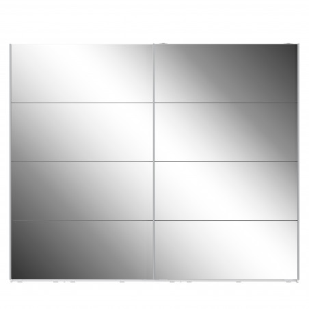 Dulap 2 Usi Culisante + 2 Oglinzi Olivier, 270,1 x 62 x 223 cm-01